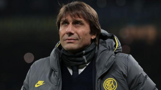 Sport Antonio Conte: Inter Milan cancel news conference after paper prints 'offensive letter'