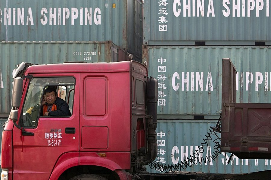 Trump's favorite trade-war scorecard posts its best figure in 17 months — but data shows overall growth is slowing