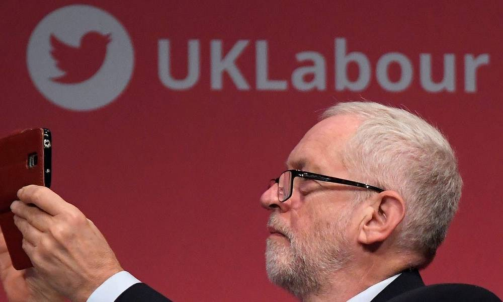 Labour's message absolutely dominated social media in the UK election. The party got crushed anyway.