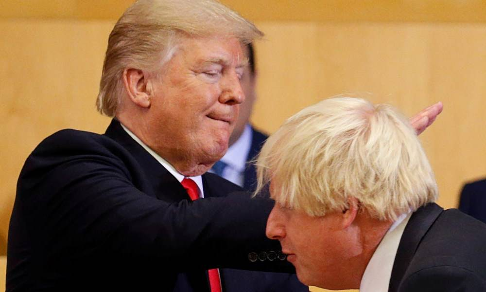 Trump has reportedly invited Boris Johnson to the US for a general election 'victory tour,' but Johnson is 'reluctant' to accept