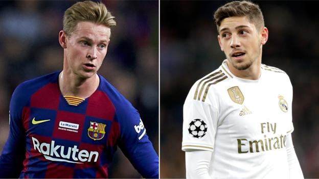 Sport El Clasico: Why Barcelona's Frenkie de Jong & Real Madrid's Federico Valverde could stand out