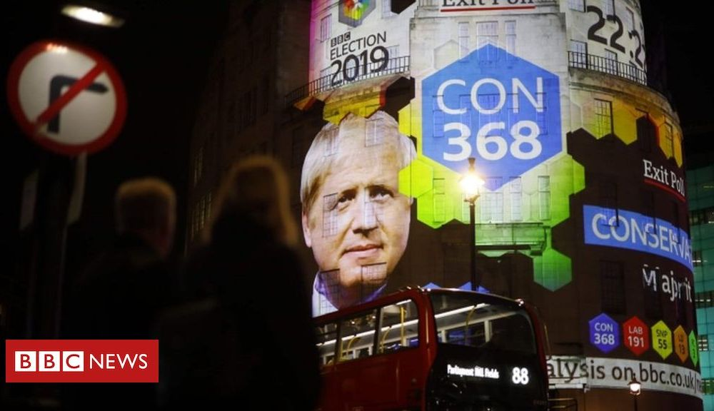 Pound soars on exit poll forecast of Tory majority