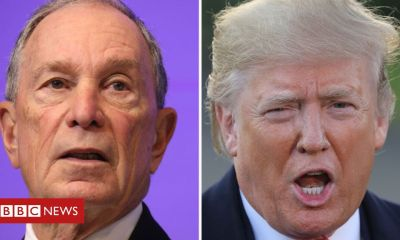 Trump Trump and Bloomberg to air duelling Super Bowl ads