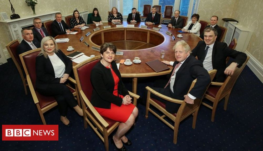 Stormont deal: Executive to discuss government's financial offer
