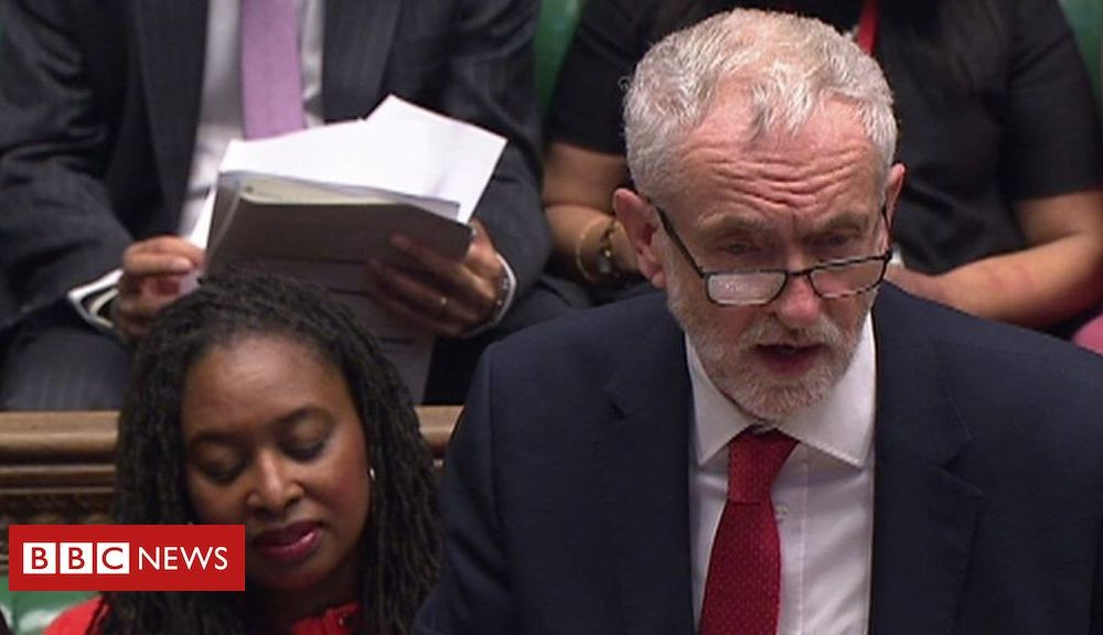 PMQs: Johnson and Corbyn on NHS care and funding