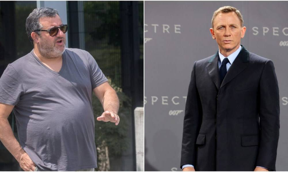 One of the world's most powerful football agents wishes he could be reincarnated as James Bond because he makes 'all the ladies get out of their clothes'