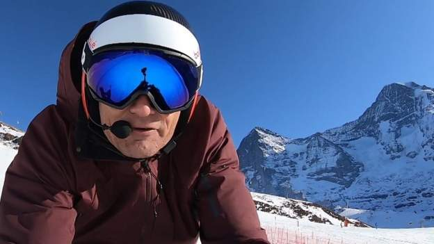 Sport Ski Sunday: 'That was a lot of fun' – Graham Bell Bell skis Lauberhorn downhill
