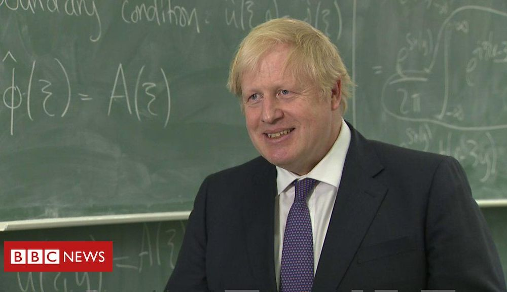 Boris Johnson: UK can 'wrap up' Brexit trade deal in 2020
