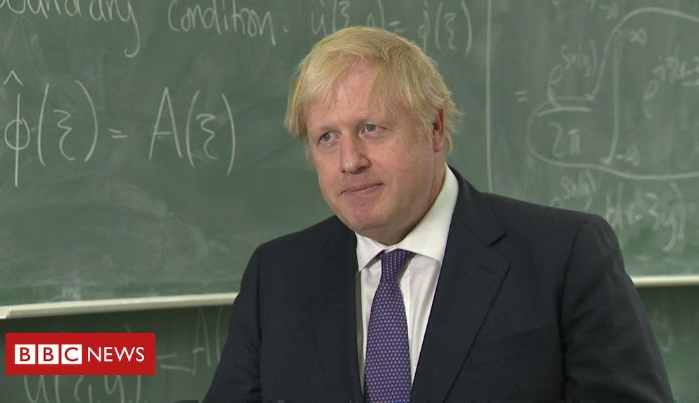 Boris Johnson: UK will 'come up' with a solution on Huawei