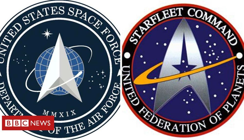 Trump US Space Force logo looks like one from Star Trek