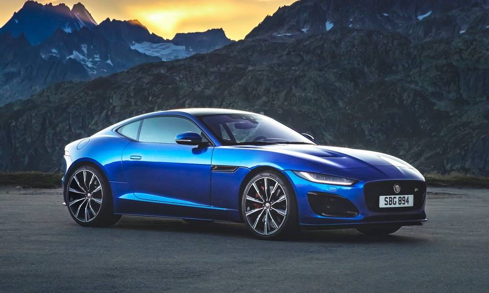 The 2021 Jaguar F-Type is about to make its North American debut at the Chicago Auto Show. Take a look at the sports coupes that made the British carmaker famous