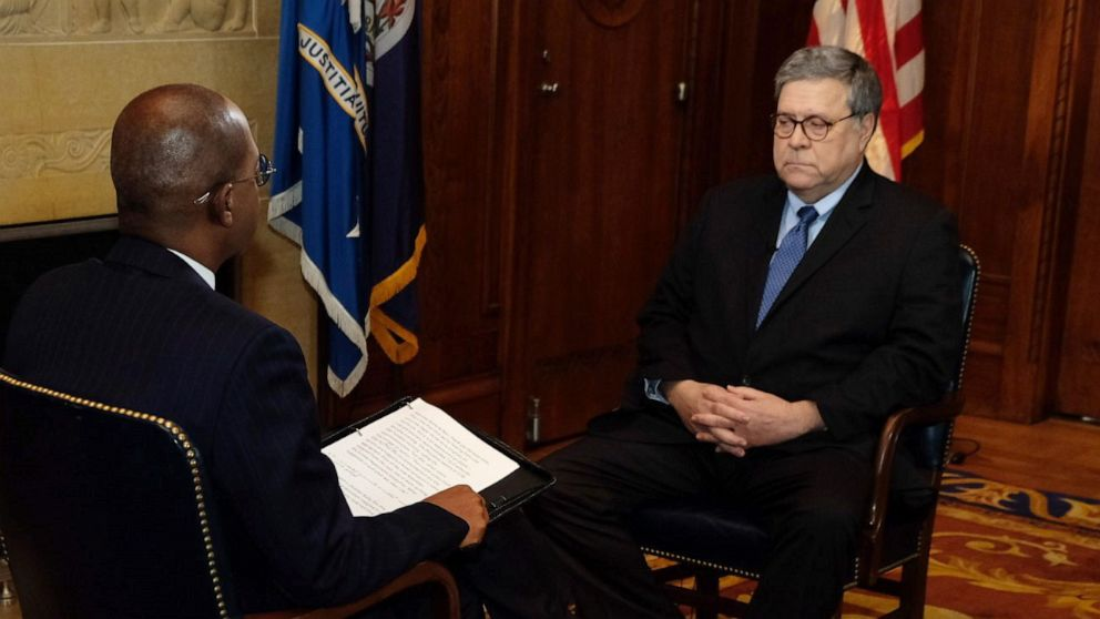 'Start Here': Barr says Trump's tweets 'make it impossible for me to do my job'