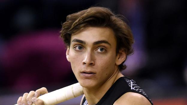 Sport Duplantis, 20, sets pole vault world record for second time in a week