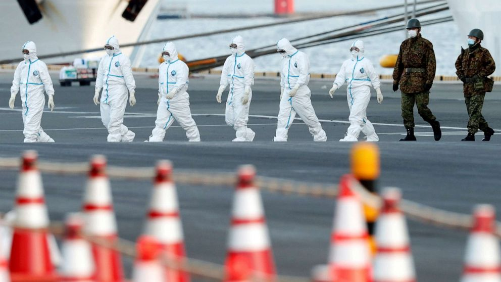 23 Americans on cruise ship in Japan contract novel coronavirus