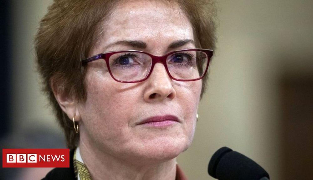 Trump Trump impeachment: Ex-Ukraine ambassador Yovanovitch retires