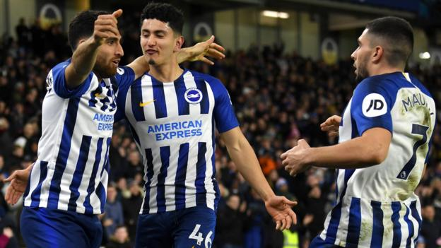 Sport Brighton rescue point as Watford miss chance to move out of bottom three