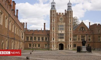 Former Eton College teacher charged with sexual assaults on boys