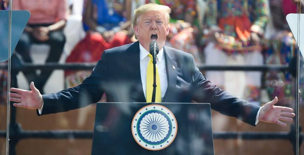 'They don't serve cheeseburgers': Trump's beef-heavy diet largely consists of fast food and steak but he'll be living on vegetarian meals during his trip to India