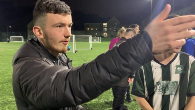 Sport EFL Day of Action: The football coach with cerebral palsy helping others learn the game