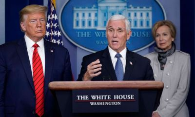 Amid shortage, Pence says millions of masks available 'now' for hospitals to buy