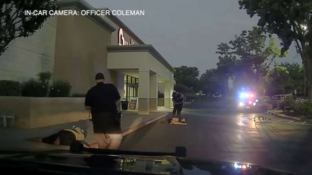 Police officer fired after allegedly kicking suspect on video