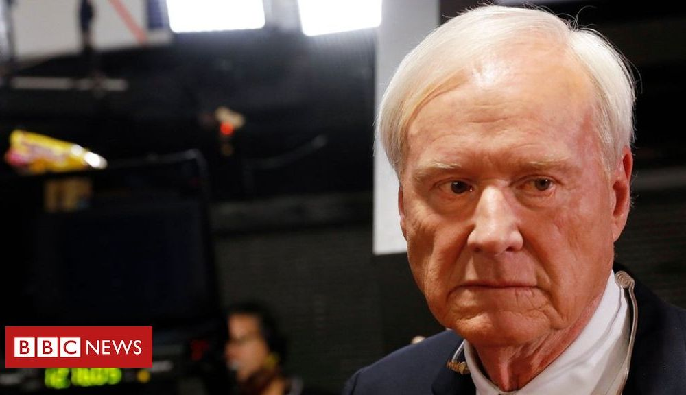 Trump Chris Matthews: TV host quits with apology for 'compliments'