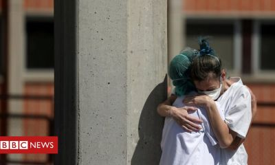 Trump Coronavirus: Deaths rise sharply in Spain while infection rate stabilises