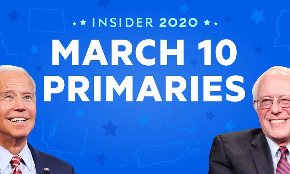 LIVE UPDATES: See the full results of the March 10 Democratic primaries