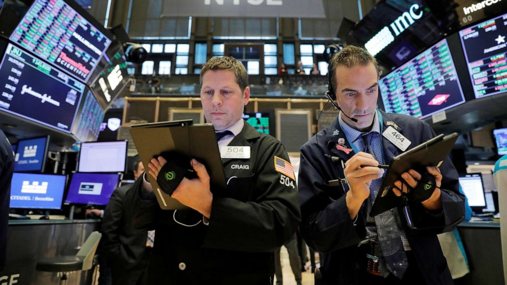 Dow on brink of bear market as Wall Street whiplash continues – ABC News