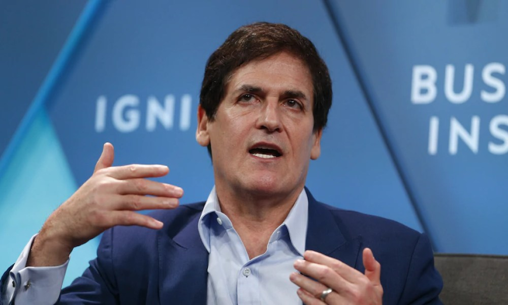 Here's what Mark Cuban is buying as coronavirus stress continues to sink markets