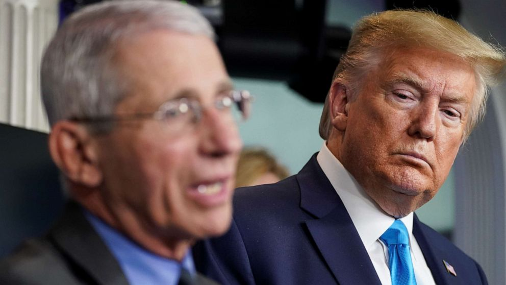 Government response updates: Trump pushes reopening US, Fauci backs 'rolling reentry'