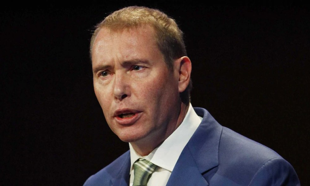 Jeff Gundlach questioned the point of taxes if 'endless' central bank borrowing is a 'viable solution,' in a stinging attack on the Fed