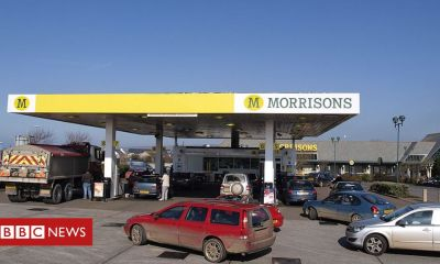 Morrisons cuts petrol price to below £1 a litre