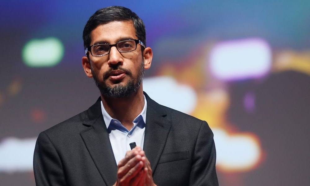 Sundar Pichai doesn't plan to move Google's workforce entirely remote: 'I expect us to need physical spaces to get people together' (GOOG, GOOGL)