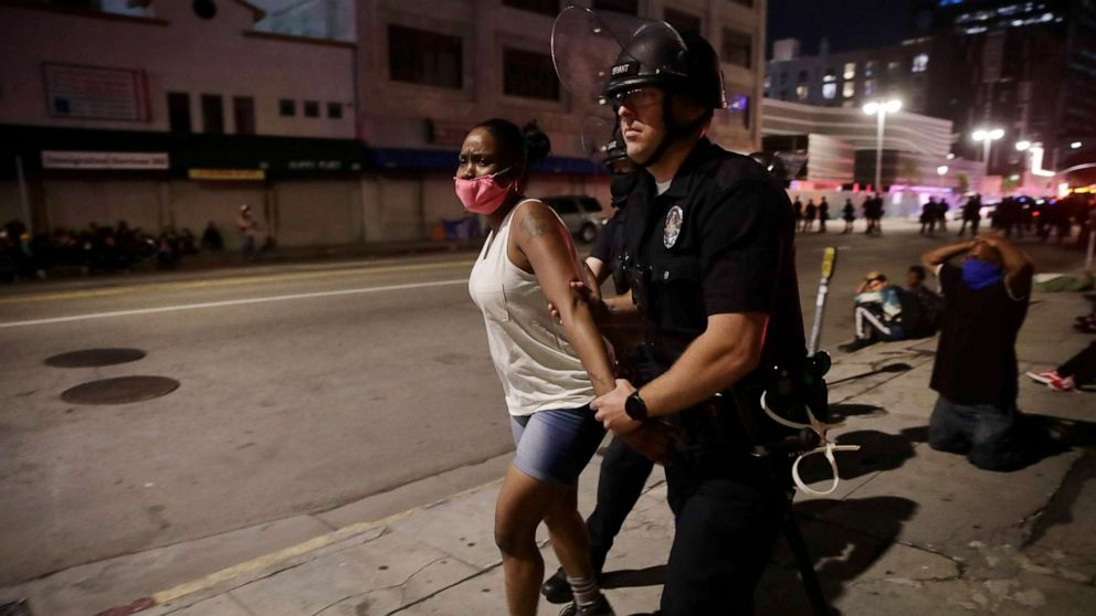 ABC News analysis of police arrests nationwide reveals stark racial disparity
