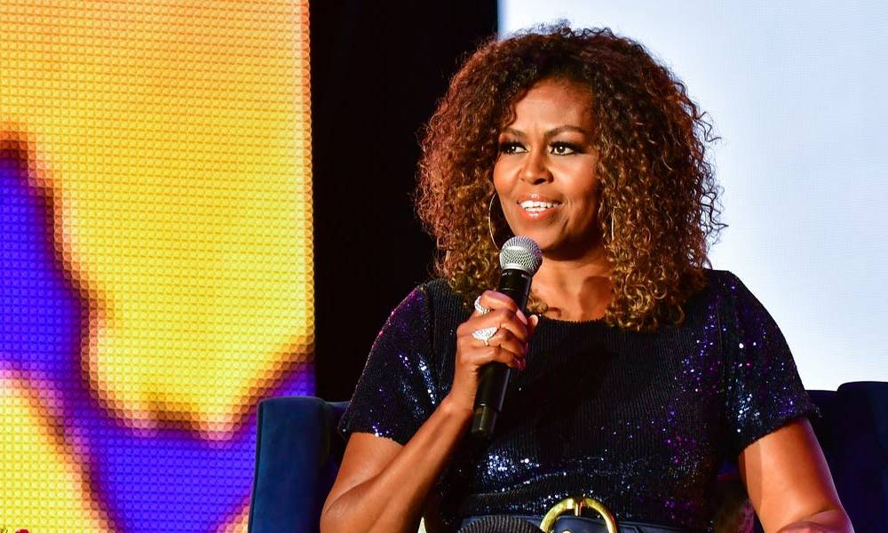 Michelle Obama tells the class of 2020 to 'focus' their anger into positive change during a virtual commencement address