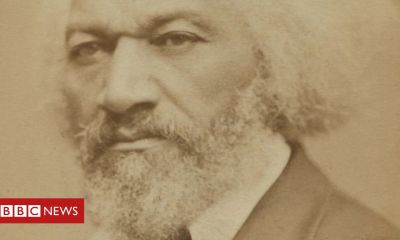 Trump Frederick Douglass: Historic US black activist's statue toppled