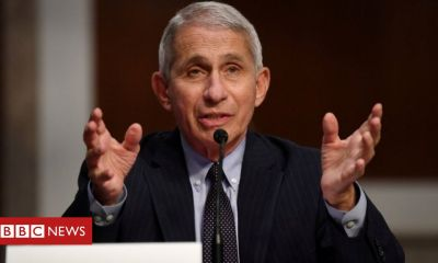 Trump Coronavirus: White House targets US disease chief Dr Anthony Fauci