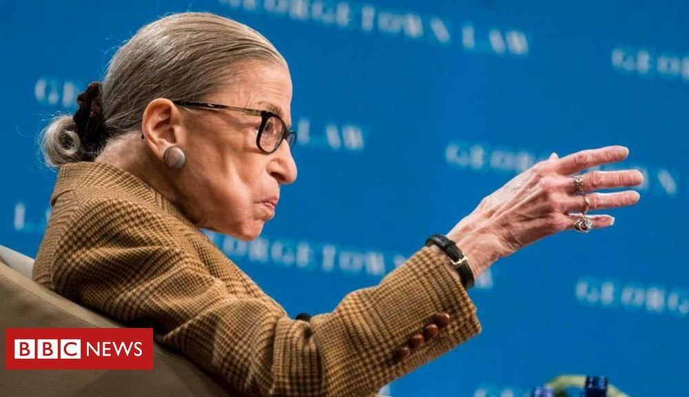 Trump Ruth Bader Ginsburg: US Supreme Court oldest justice treated for possible infection