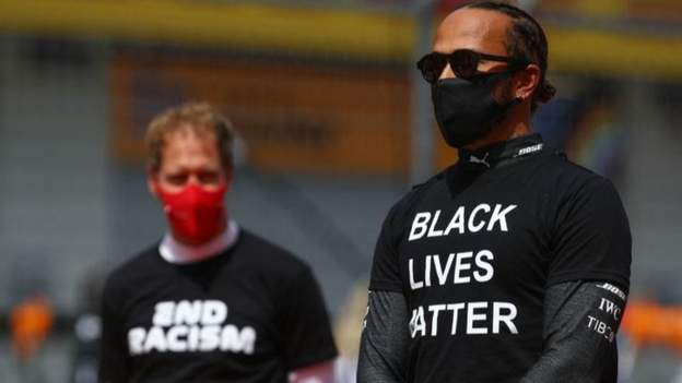 Sport F1 to continue pre-race anti-racism demonstrations