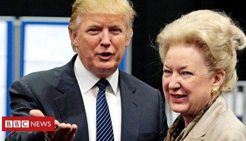 Trump Donald Trump's sister says he's an 'unprincipled phoney'