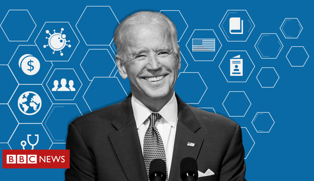 Trump Joe Biden: Where does the US presidential hopeful stand on key issues?