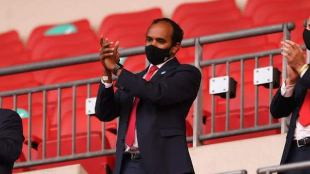 Vinai Venkatesham: Arsenal chief executive says he had sleepless nights over redundancies