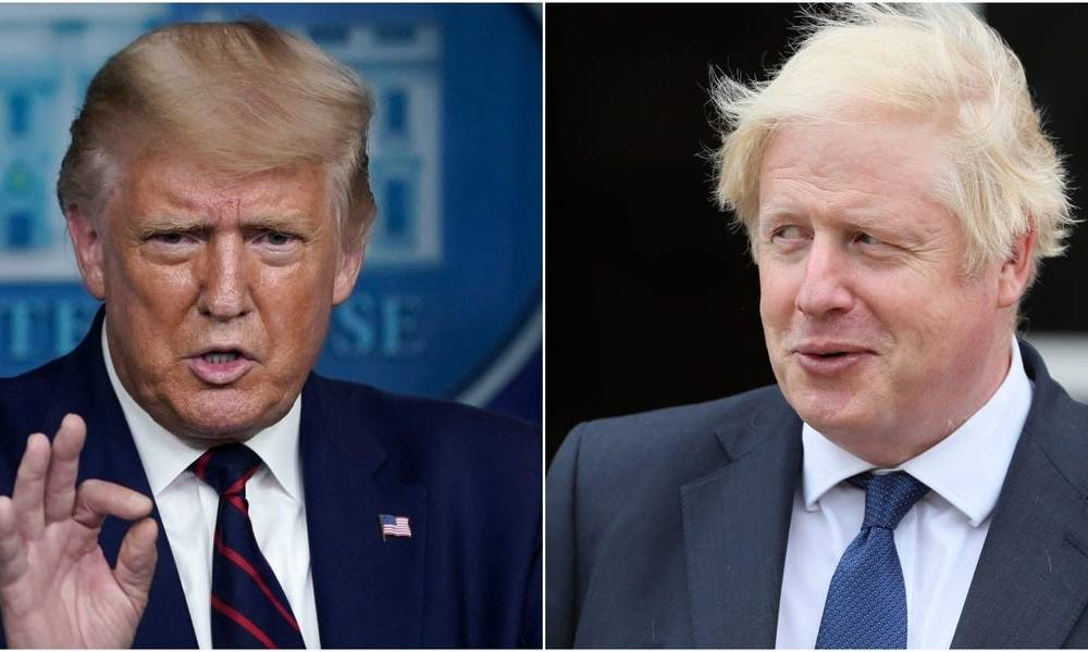Boris Johnson is copying Trump's tactics on Brexit, says the UK's former ambassador to the US