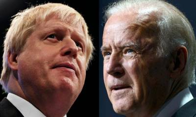 Joe Biden has been told to stop 'lecturing' the UK after he warned Boris Johnson not to break his Brexit deal with the EU