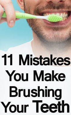 Dentist in Zionsville Brushing Mistakes