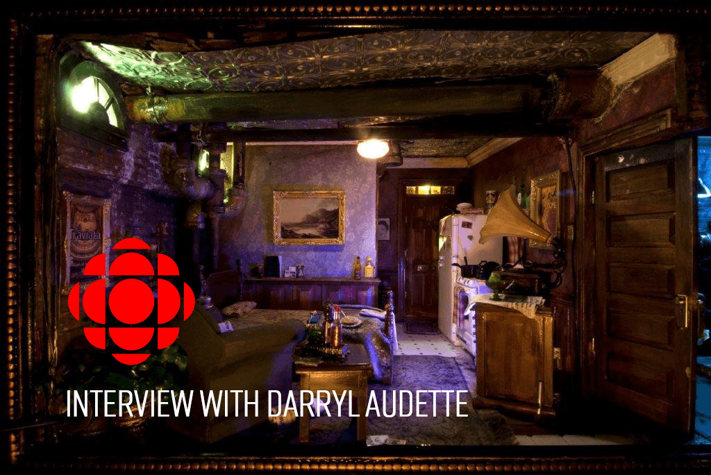 CBC Interview with Darryl Audette