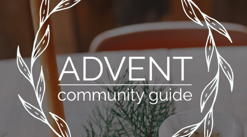 Saturate Advent Community Guide