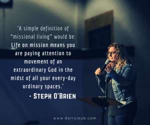 Steph O'Brien Life on Mission