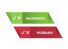 Read more about the article Mubaah or Makrooh